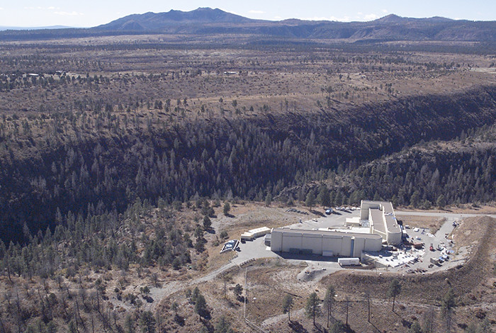 An aerial view of the DARHT facility.