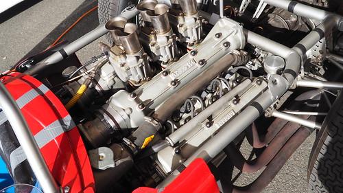 "Ferrari 156 Formula One ""Sharknose"" 1961 and Arturo Merzario 45000884831_597c2e0733"