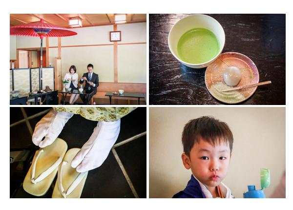 お茶屋・茶席(愛知県岡崎市)で七五三前撮りのロケーション撮影 5歳の男の子