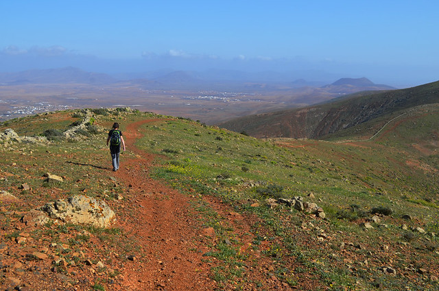 Path on Fuerteventura