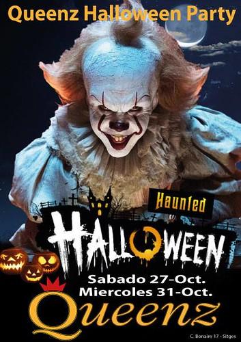 Fiesta Halloween en Queenz