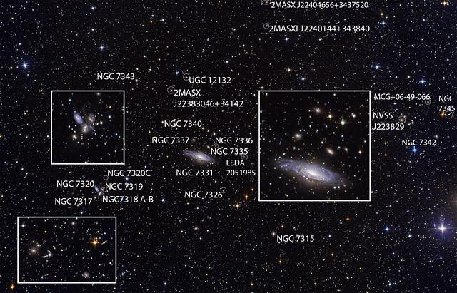 VCSE - NGC 7331 - Stephan's quintet - Ágoston Zsolt