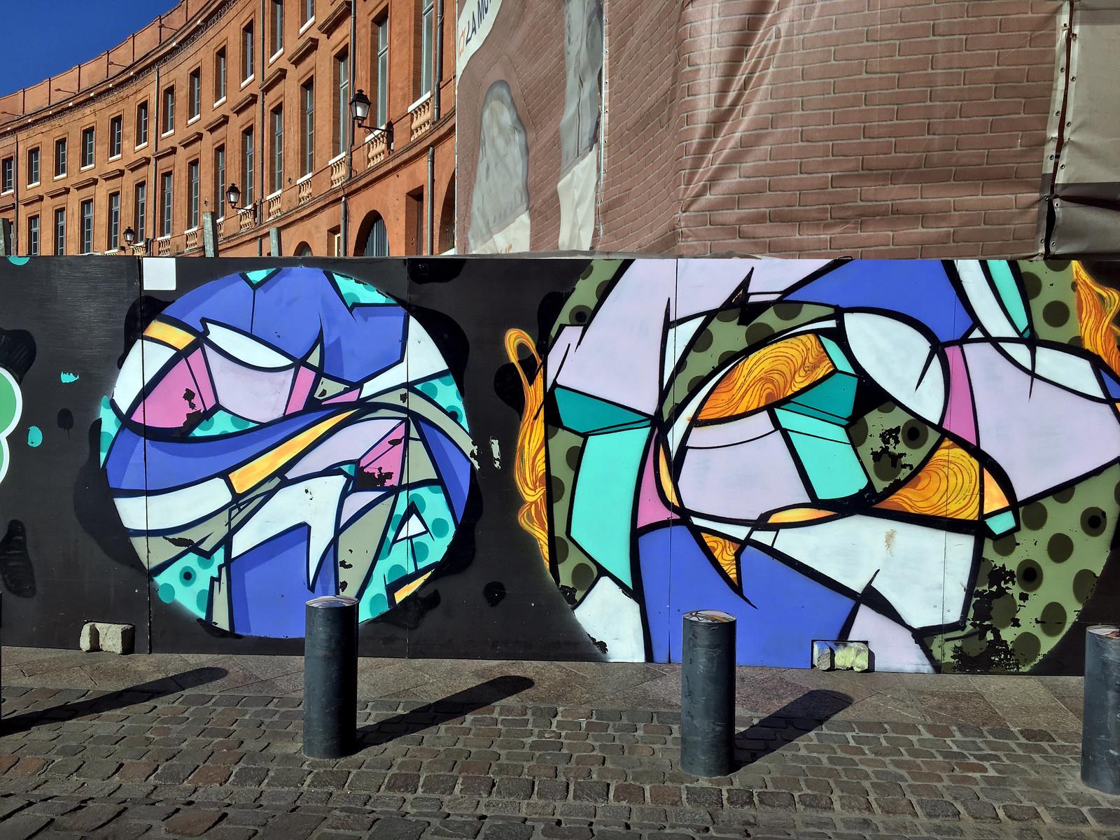 Toulouse graffiti rezo