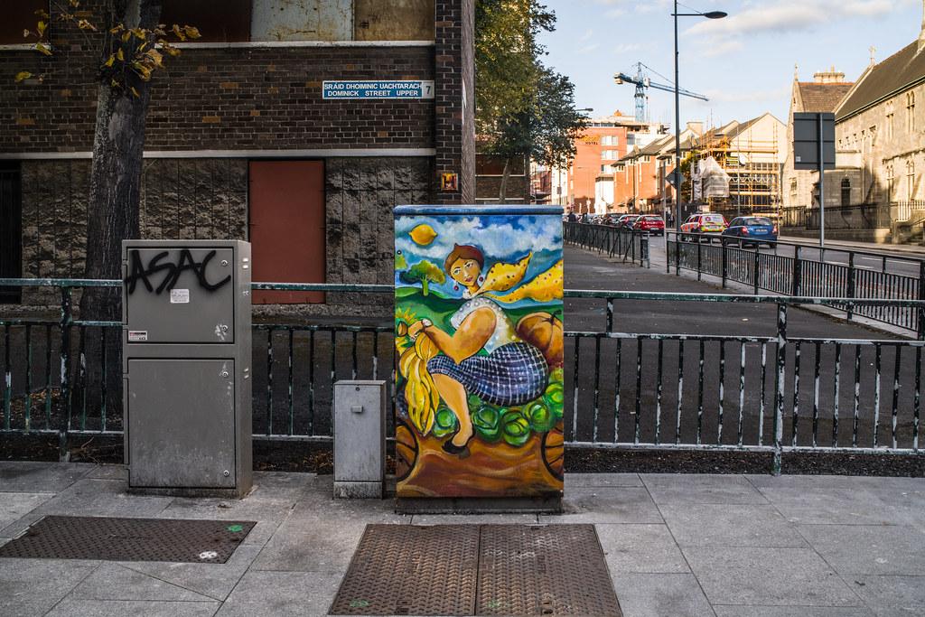 PAINT-A-BOX STREET ART IN DUBLIN 7 UPPER DOMINICK STREET 002