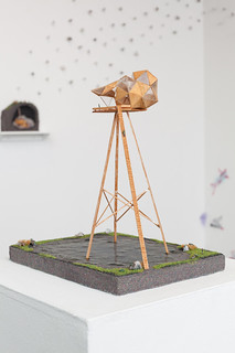 Waterfall Observatory Prototype by Becky Wareing Steele