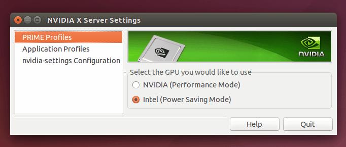 nvidia-intel-power-settings