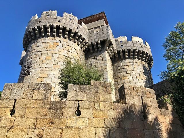 Castillo de los Duques de Alba en Granadilla (Tierras de Granadilla, Cáceres)