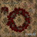 Hunter West - Pinecone Wreath - Red Maple
