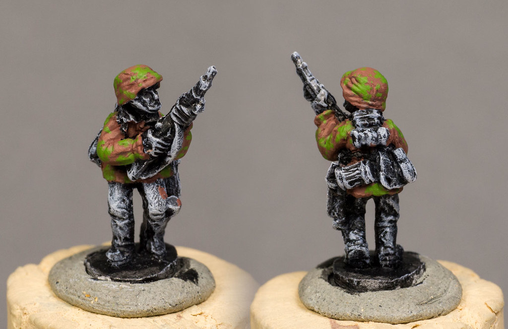 Painting Waffen-SS
