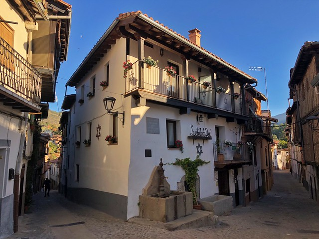 Calle de la amistad judeo cristiana en Hervás (Cáceres)