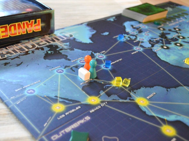 Pandemic Breaking Out New Boardgame