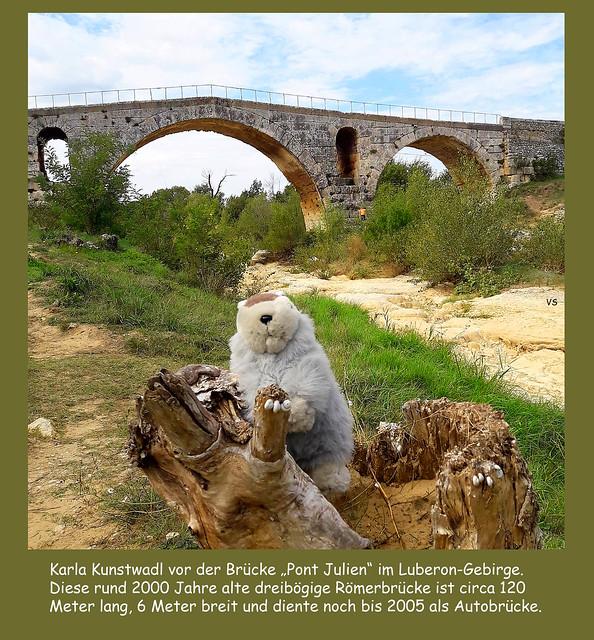 September 2018: Reisemurmeltier Karla Kunstwadl in der Provence - en Provence - Fotos: VS
