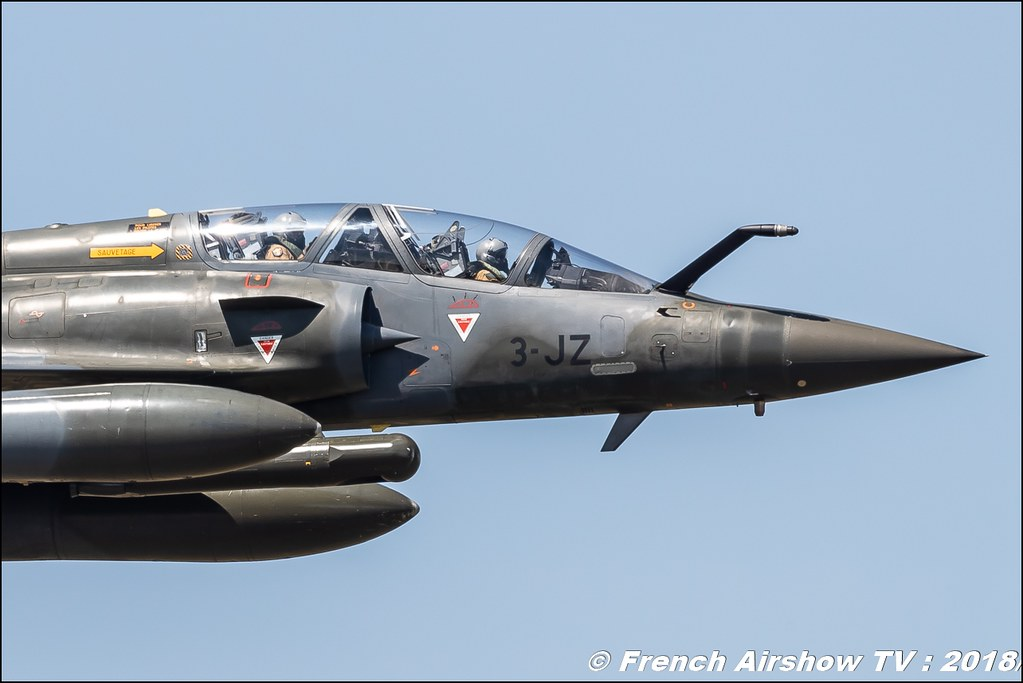 Mirage 2000 D Simulation d'Attaque Meeting de l Air BA-133 Nancy Ochey 2018 FOSA Armee de l Air Canon Sigma France contemporary lens Meeting Aerien 2018