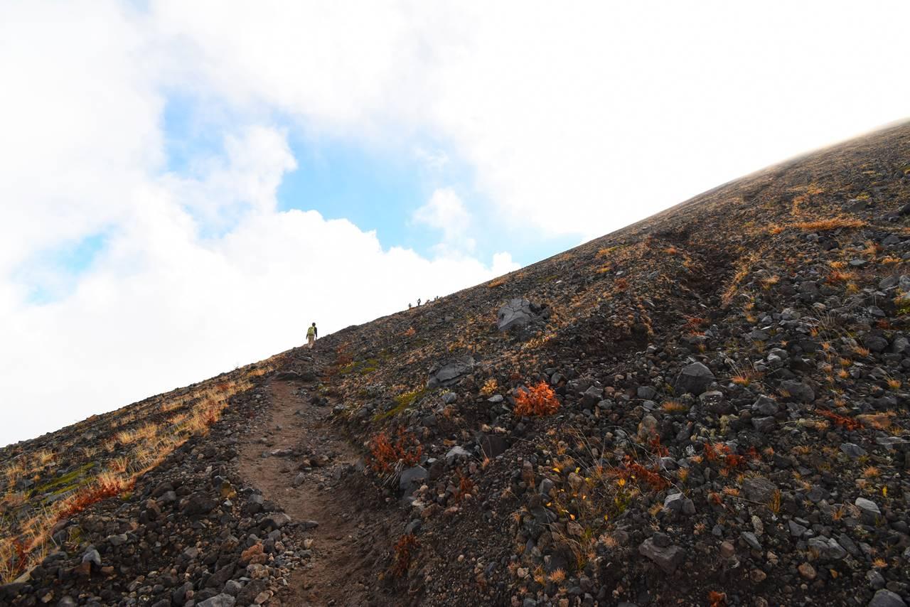 浅間山(前掛山)登山