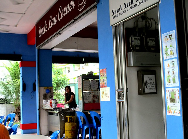 Uncle Lau Corner kampua mee stall