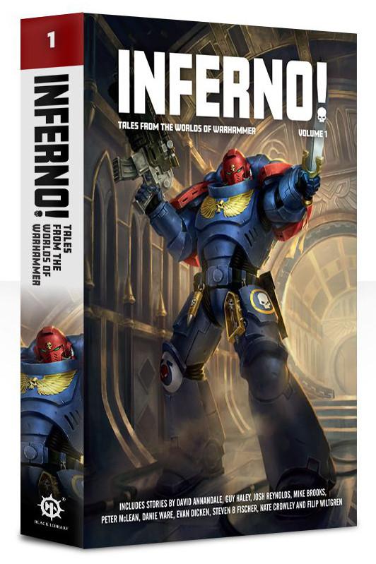 Антология рассказов Inferno!, первый выпуск
