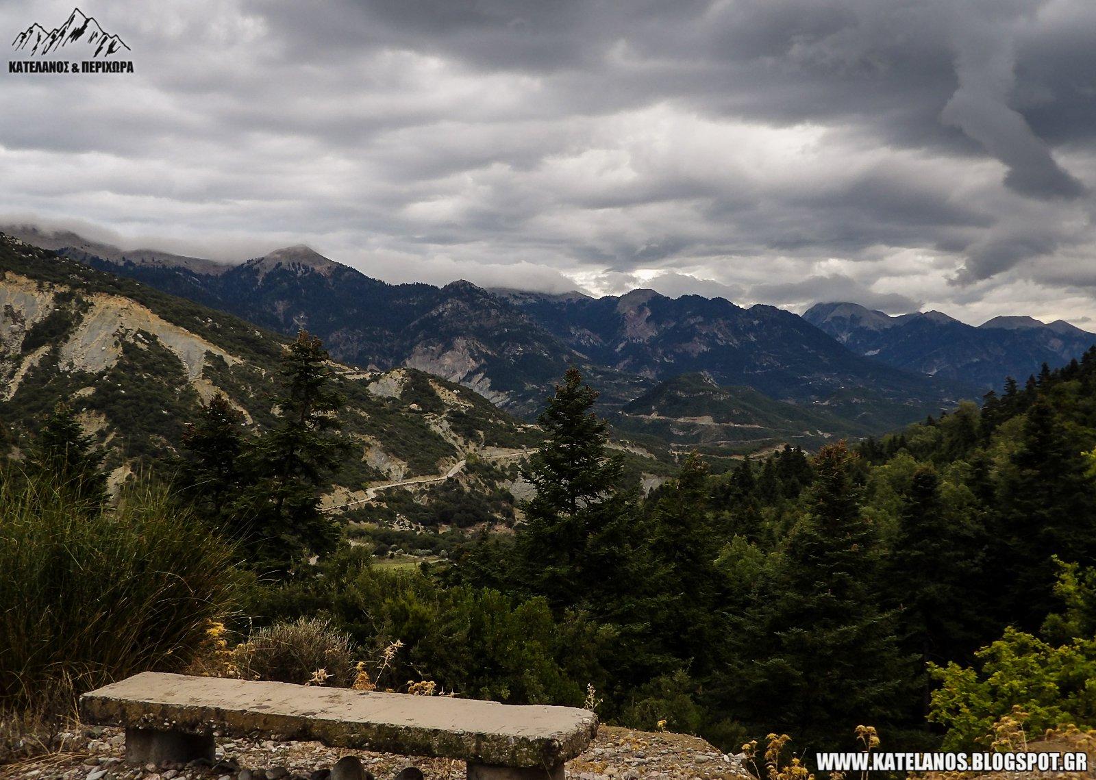 σκαλτίνα αιτωλοακαρνανίας οροσειρά παναιτωλικού ορεινή τριχωνίδα φθινόπωρο