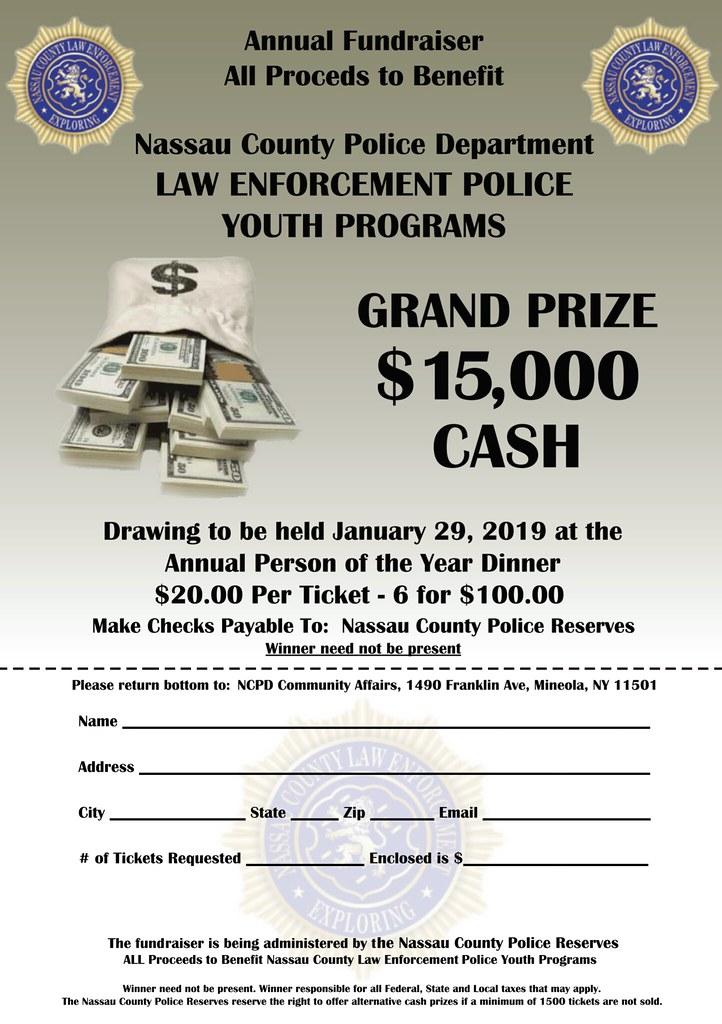 Grand Prize $15,000 CASH