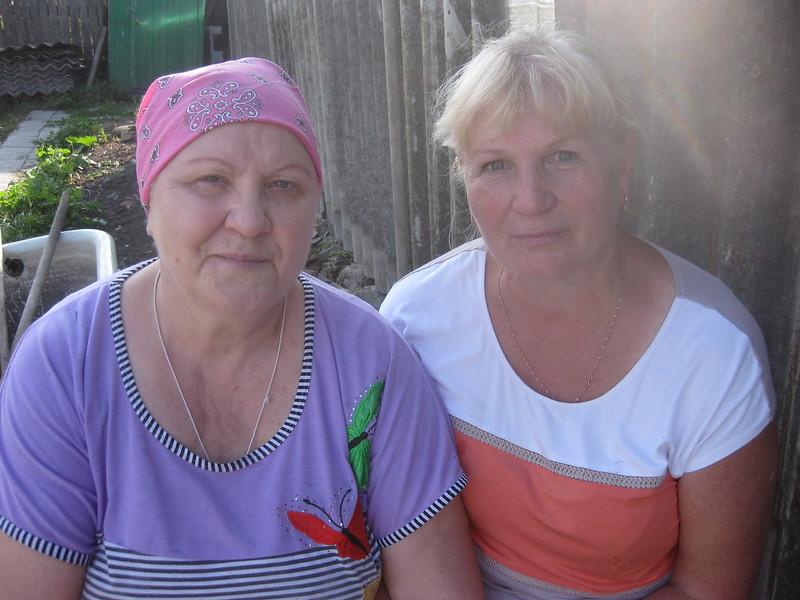 Отставнова (Копылова) Мария Андреевна и Копыловой Любовь Семёновна