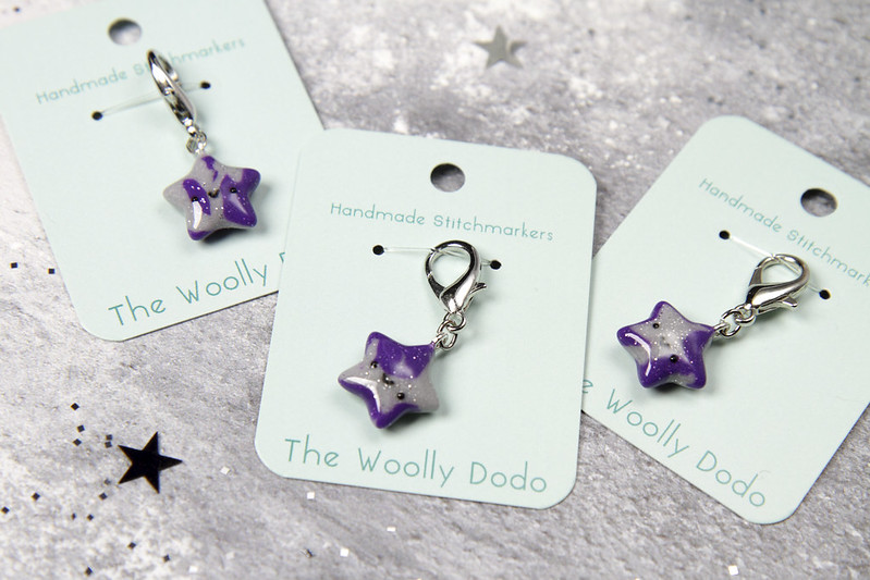 Stitch Marker by The Woolly Dodo