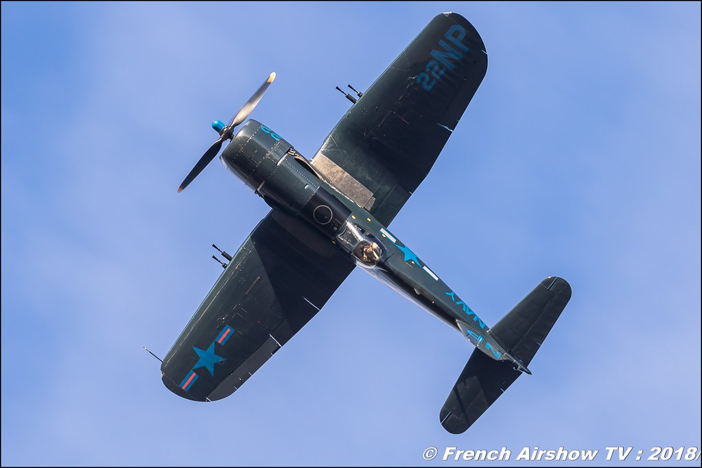 Vought F4U-5NL Corsair F-AZEG Amicale Jean Baptiste Salis , Meeting aérien Des Étoiles et des Ailes 2018 - Aéroport de Toulouse Francazal , Canon EOS , Sigma France , contemporary lens , Meeting Aerien 2018