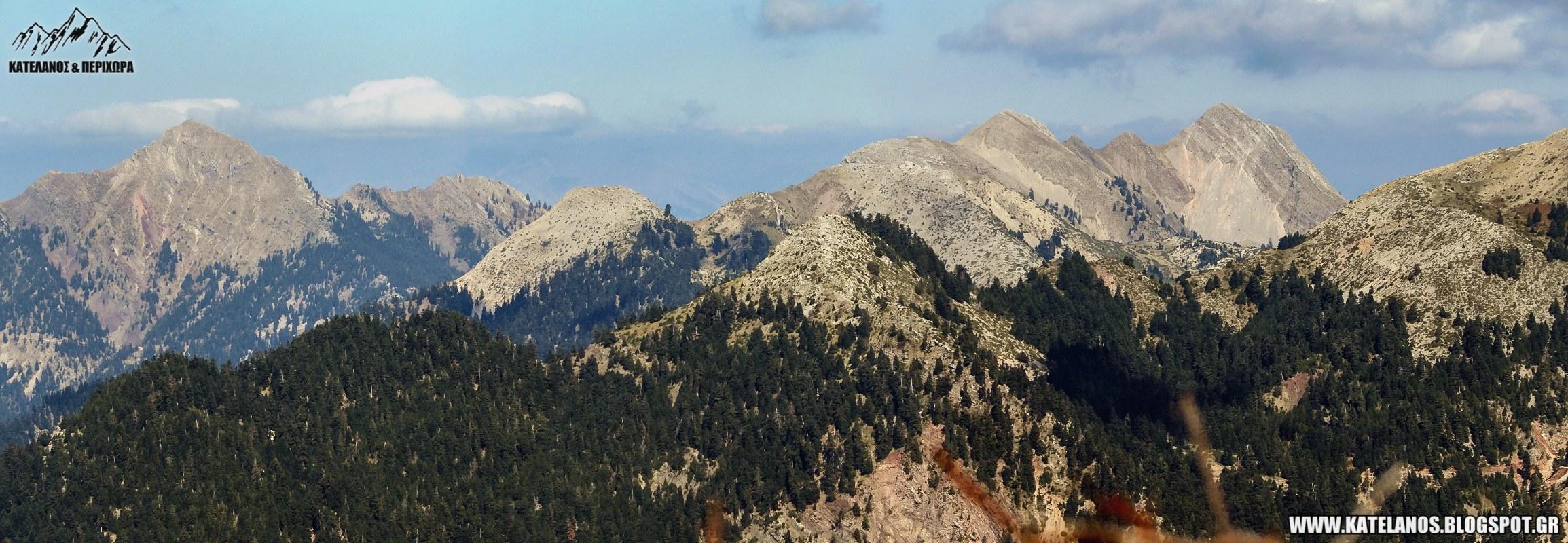 βουνοκορφές παναιτωλικού όρους βοτνά αιτωλοακαρνανίας