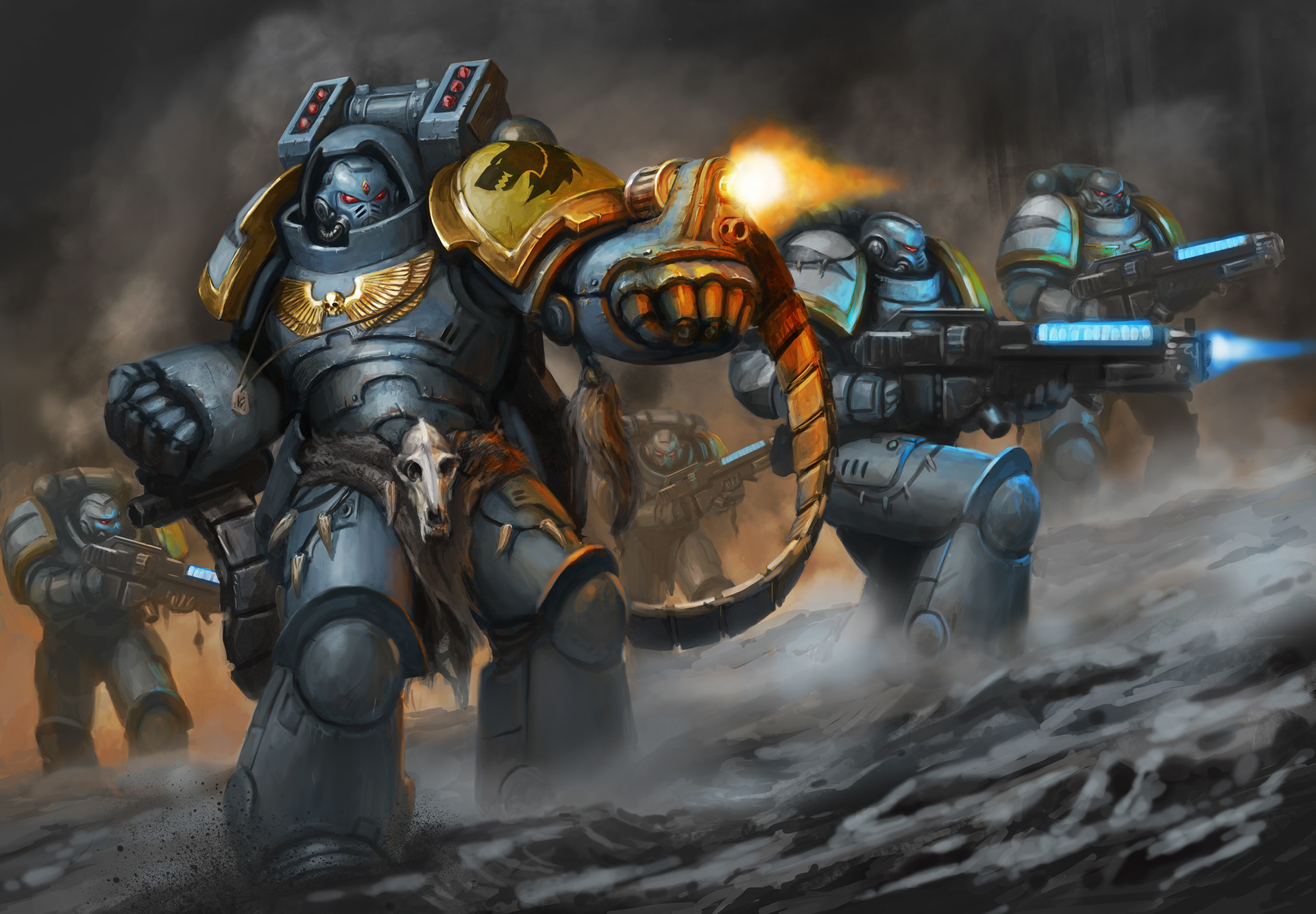 Space Wolves Aggressors & Hellblasters