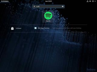 Spotify-tras-ser-instalado-mediante-Flatpak-en-Fedora-28
