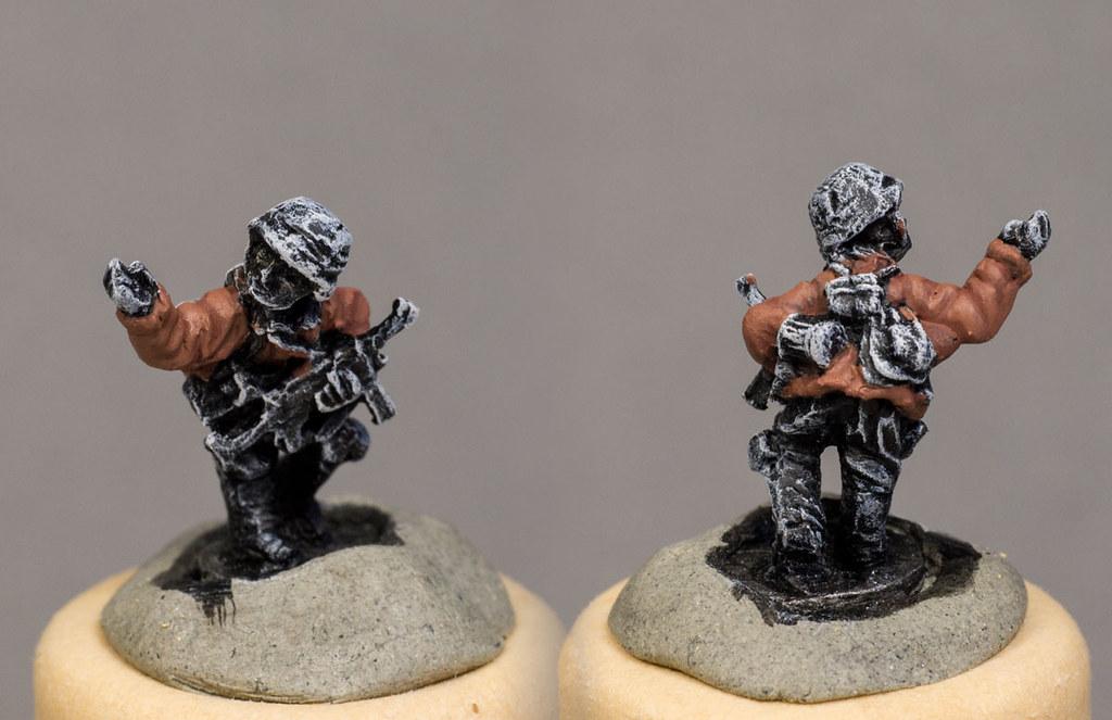 Painting Waffenn-SS