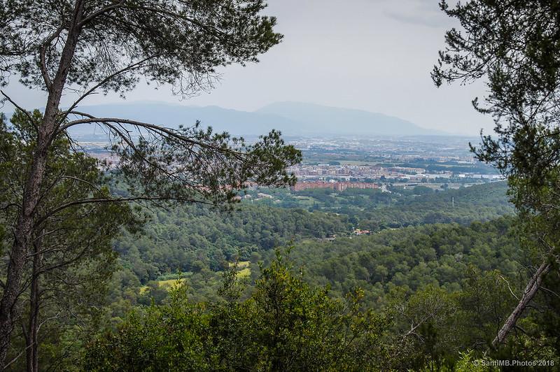 El Montseny visto desde Collserola