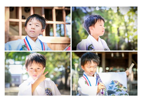 七五三 5歳の男の子 挙母神社(愛知県豊田市)