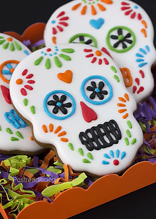 galletas decoradas día de los muertos