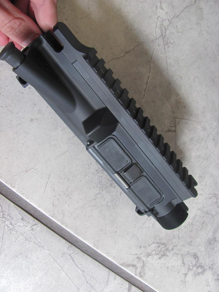 HK MR556, HK416 parts rails, sights, piston rod assembly