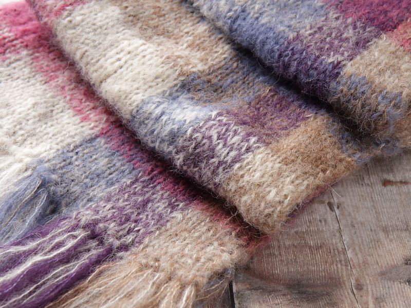 Cauldhame scarf (detail)