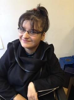 Erasmus+ project participant Andrea Sapundjija smiling