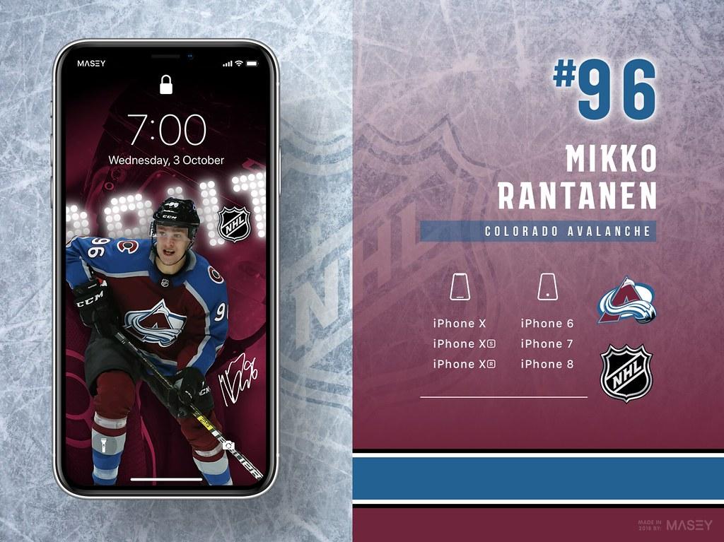 Mikko Rantanen (Colorado Avalanche) iPhone Wallpaper