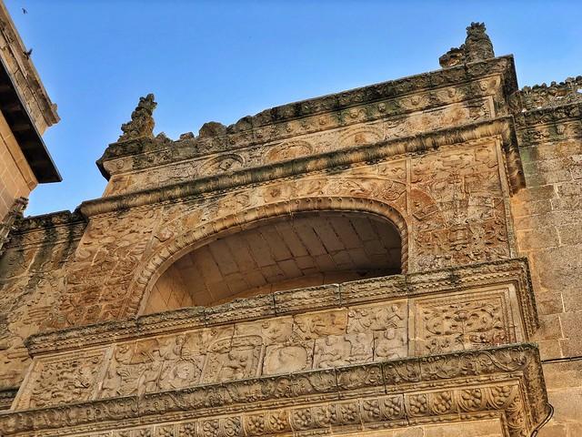 Balcón de la catedral de Coria (Cáceres)