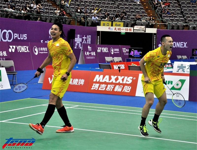 盧敬堯(左)與楊博涵。(資料照,張哲郢/攝)
