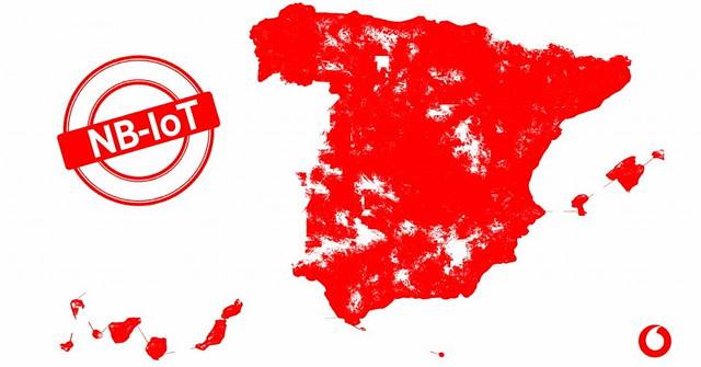 La red para el Internet de las cosas de Vodafone ya llega a todas las ciudades de más de 25.000 habitantes