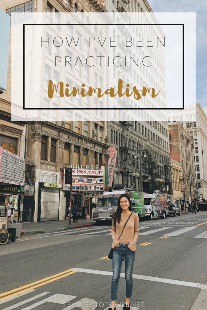 How I've Been Practicing Minimalism