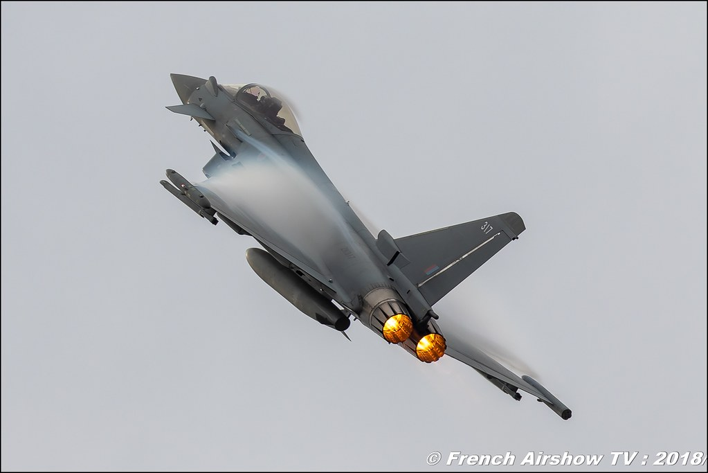 Eurofighter Typhoon Display RAF100 Airbus BAFDAYS Kleine-Brogel 2018 BELGIAN AIR FORCE DAYS 2018 BA Kleine Brogel Canon Sigma France contemporary lens Meeting Aerien 2018