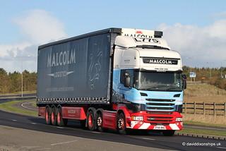 Malcolm Logistics Scania R450