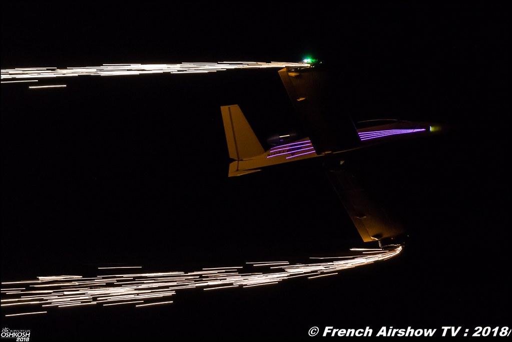 Vertigo Airshows SubSonex MicroJet Night Airshow EAA AirVenture Oshkosh 2018