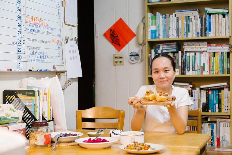 「惜食運動」也是主婦聯盟近年重要的工作(攝影:吳宜靜)