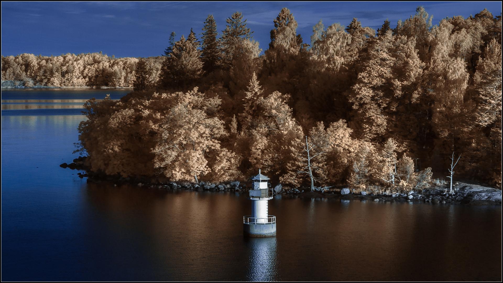 Инфракрасная фотография как сделать фильтр