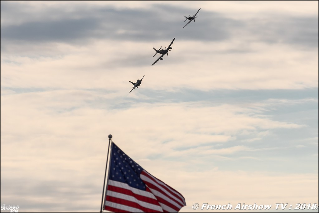 Air Force Heritage Flight EAA AirVenture Oshkosh 2018 Wisconsin Canon Sigma France contemporary lens Meeting Aerien 2018