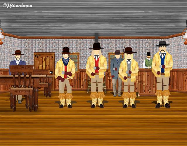 Inside Nuttal & Mann's Saloon ©J. Boardman