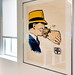 Original Dick Tracy art on our walls at work.