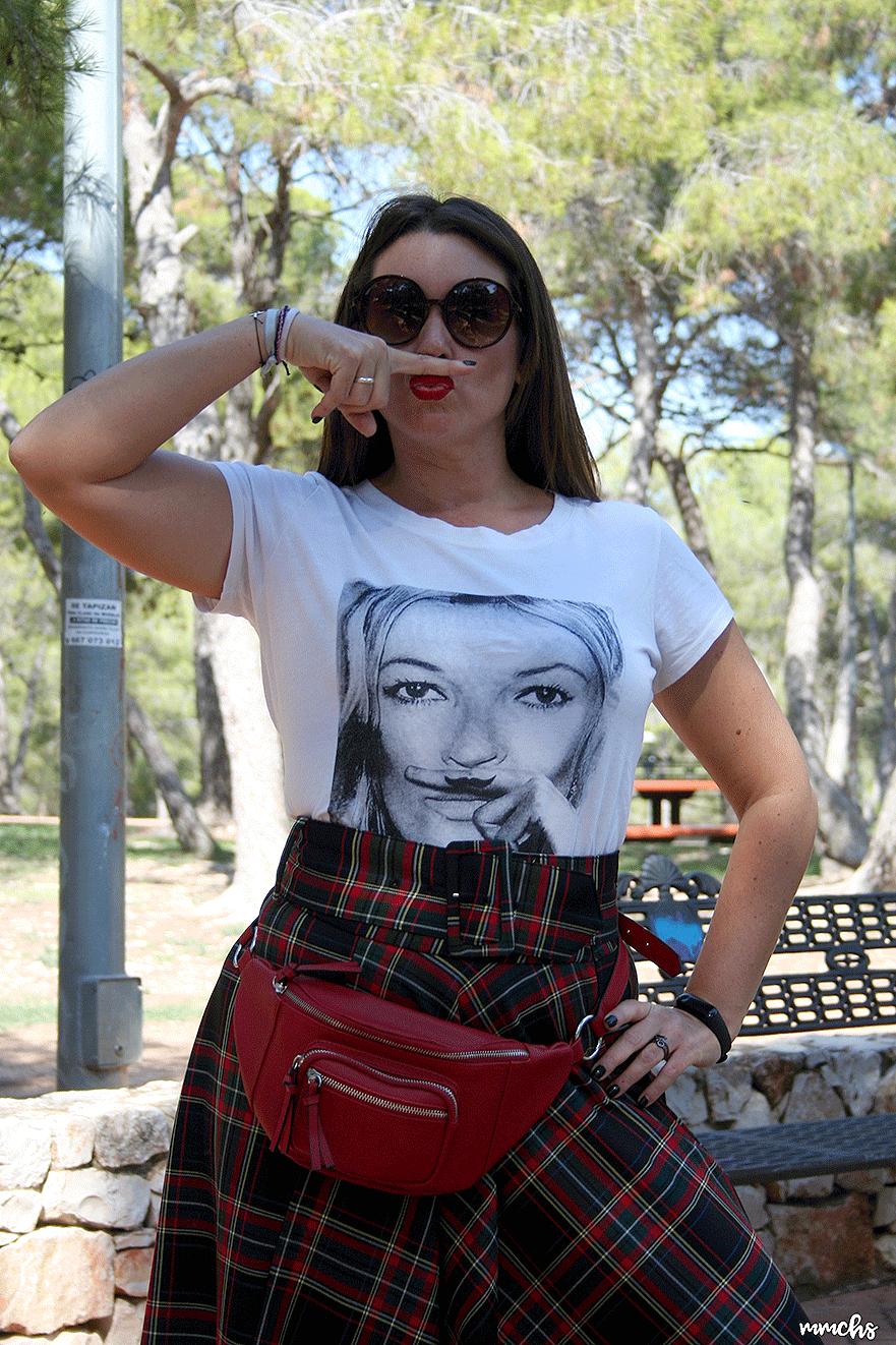 camiseta de Kate Moss de mujer
