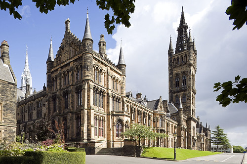 The University of Glasgow building